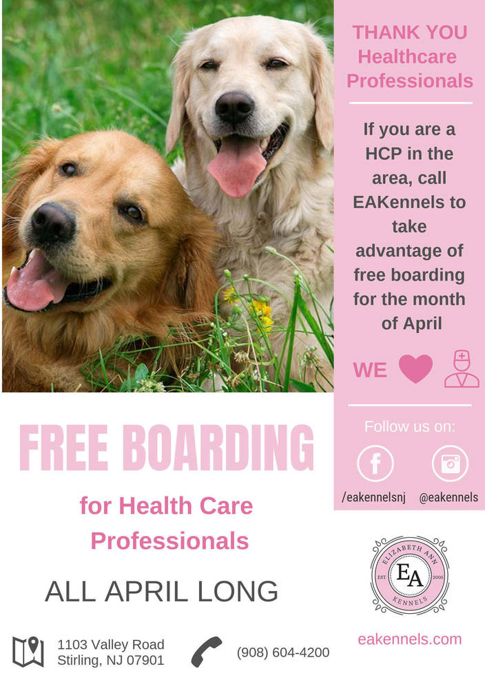 Free Boarding for Health Care Professionals
