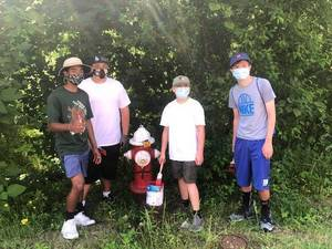 Helmetta's Brandon Bandoy's Eagle Scout Project Giving Borough Fire Hydrants A Makeover