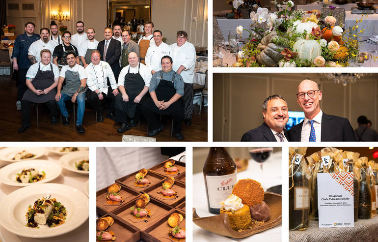 6th Annual Chefs Tableside Dinner