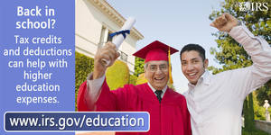 Here's what taxpayers need to know about higher education tax credits
