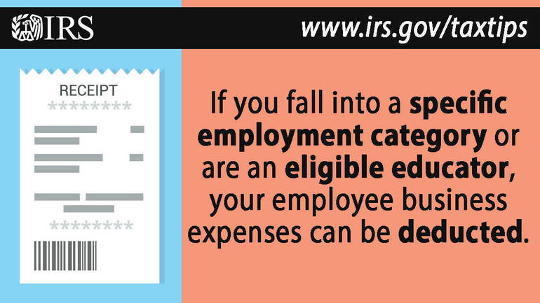 Here's who qualifies for the employee business expense deduction
