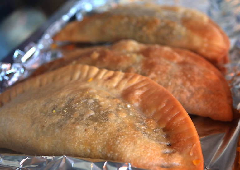 Empanadas at The Fanwood Grille
