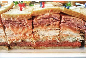New Jersey sloppy joe sandwich
