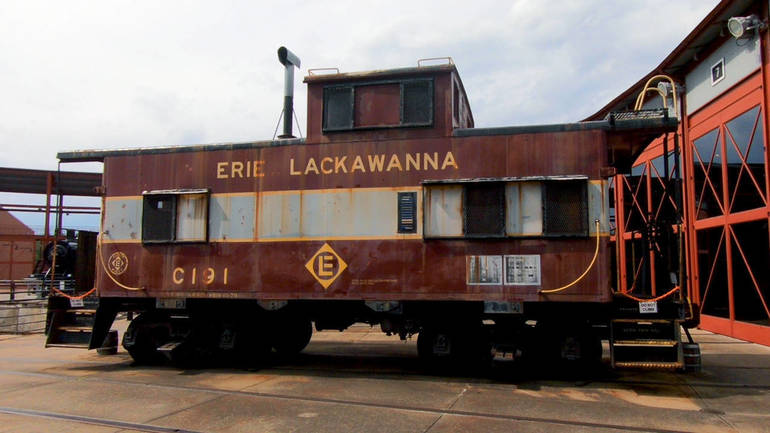 Caboose at Steamtown