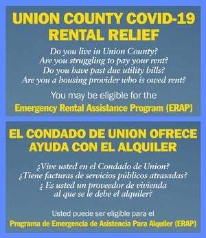 Rental Assistance Available for Tenants in Union County Impacted by the COVID-19 Pandemic