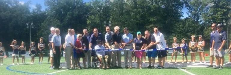 Warren Township Cuts Ribbon on East County Turf Field
