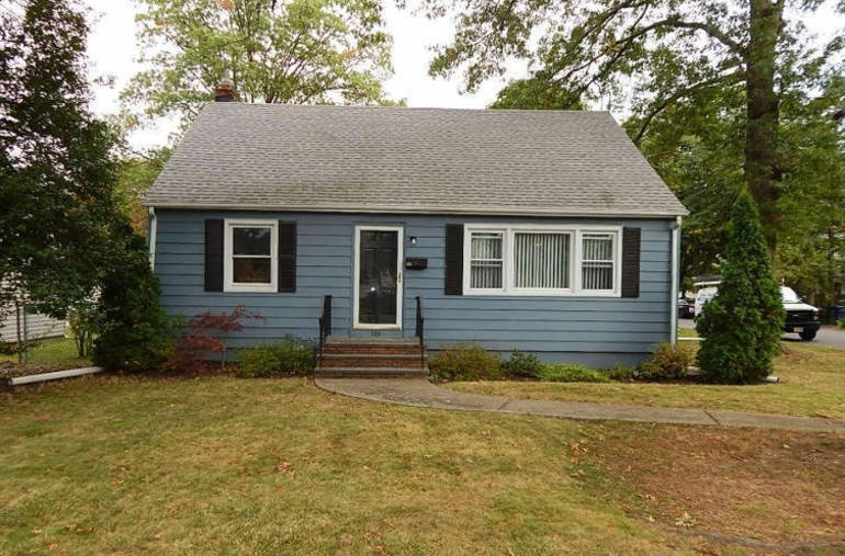 One of the few homes on the market in Fanwood, this Cape is currently under contract.