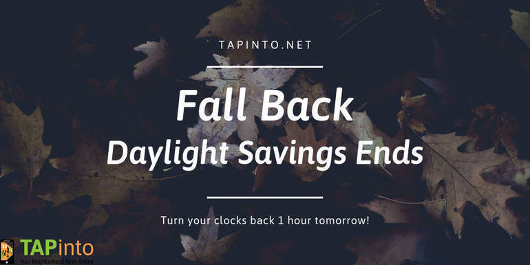 Fall Back and Check Detectors As We Move To Standard Time