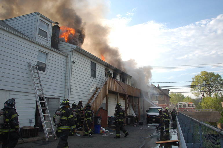 Paterson Firefighters Pull Two from Early Morning Blaze