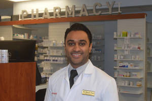 Fanwood Pharmacy owner Mit Patel has seen an uptick in traffic in the store after selling a $10,000 winning lottery ticket.