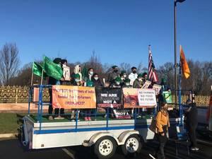 'Farmers Make, The World Takes' Car Parade Rallies for Kissan Farmers
