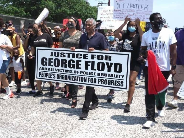 Rally to Celebrate Verdict in George Floyd Case