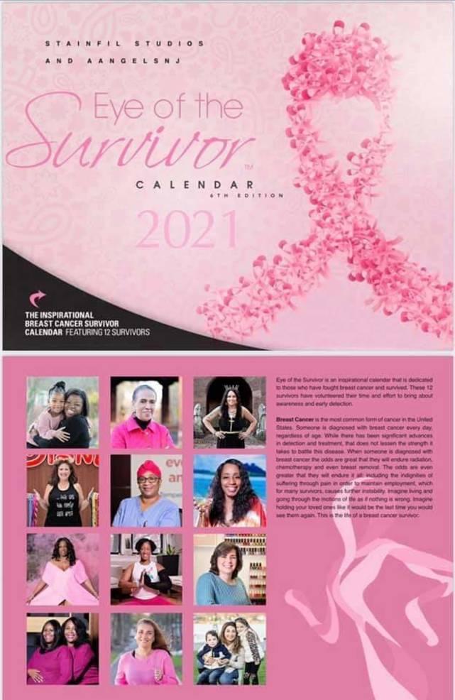 Roselle Resident Featured  in Breast Cancer Survivor Calendar