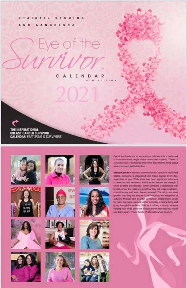 New Jersey Residents Included in Breast Cancer Survivor Calendar of Montclair Non-Profit
