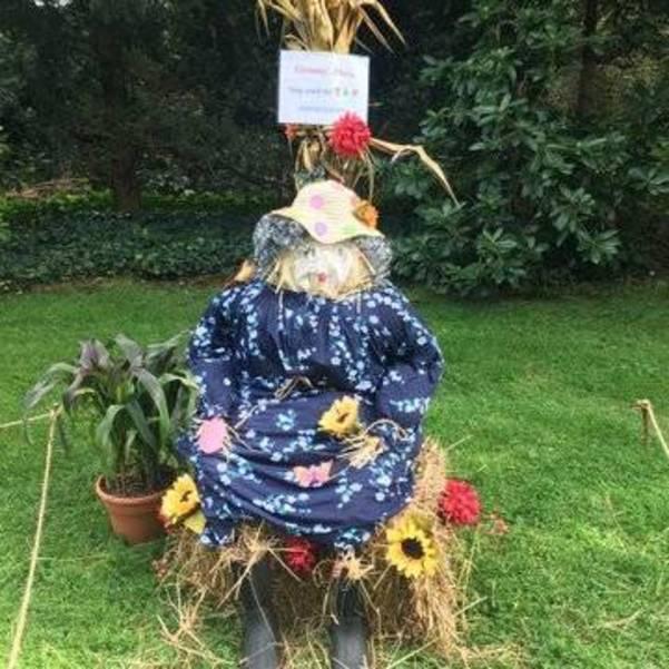 Scarecrows in the Garden, Van Vleck House, Montclair NJ, NJ Garden