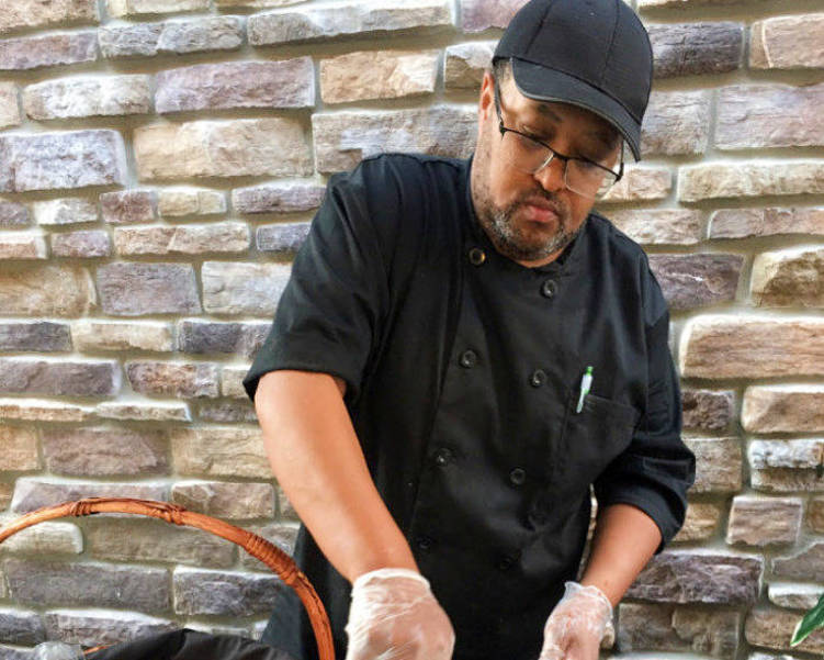 "Scotch Plains-Fanwood's own Felton Jones is in the running to be the ""Favorite Chef."""