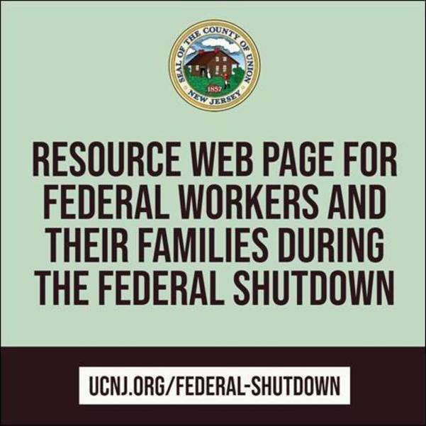 Union County Offers Resource Guide to Assist Federal Workers Affected by Shutdown