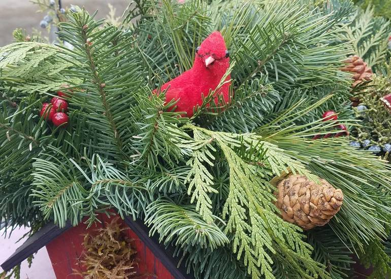 Create a Festive Centerpiece from Your Indoor and Outdoor Garden