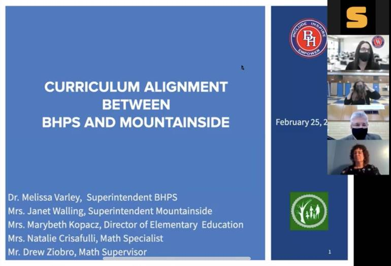 Berkeley Heights and Mountainside Affirm Commitment to Curriculum Alignment