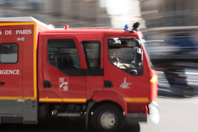 Traffic Alert:  Car Fire on Rt. 46