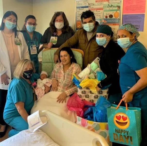 New Year's Baby at Trinitas Regional Medical Center