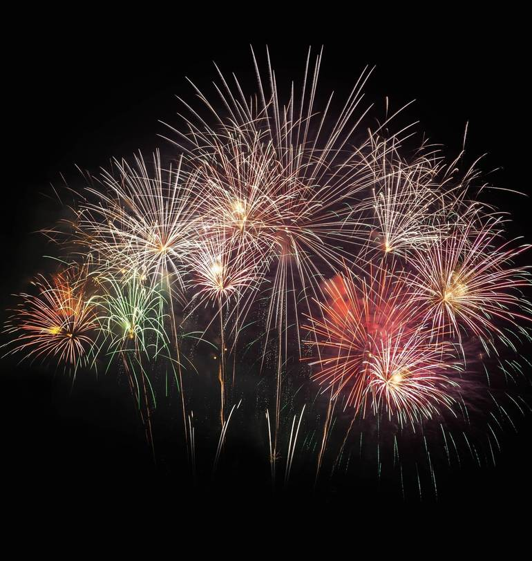 Fourth of July Fireworks in Brant Beach, Toms River and South