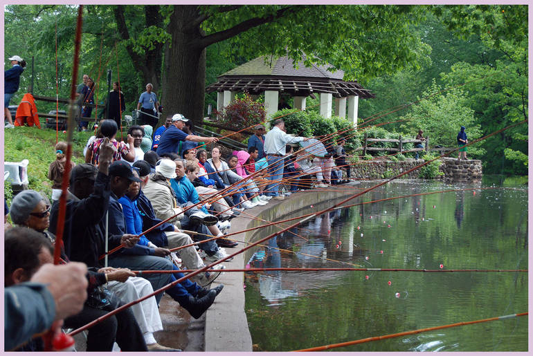 Fishing Derby for People with Special Needs on Saturday, Sept. 22