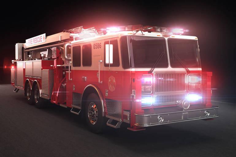 Elizabeth Fire Dept. Battle Garden Apartment Building Fire Tuesday Evening