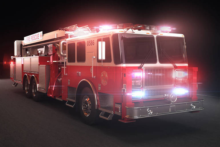 Berkeley Heights Fire Department Extinguishes Early Morning Deck Fire