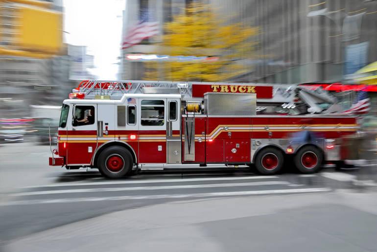 Roselle Park Fire On Scene of a Gas Line Strike Friday Morning