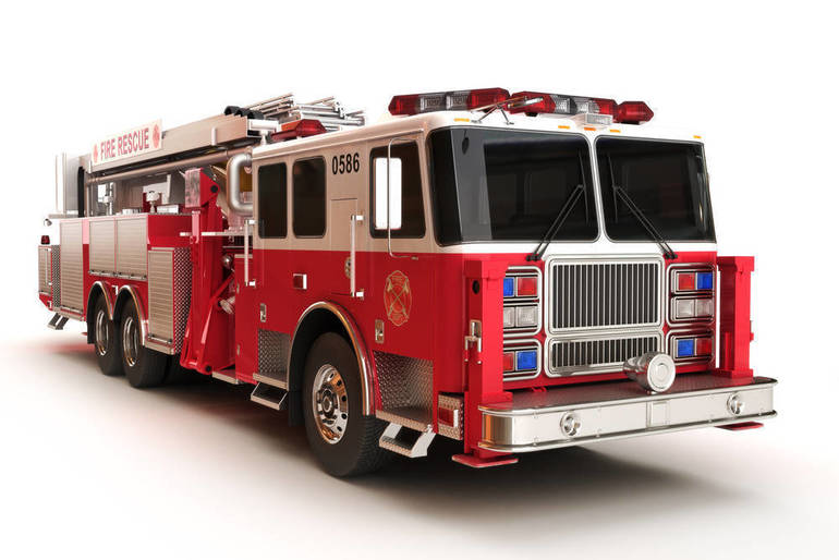 Firefighters Battle Blaze at Rainbow Specialty Colors in Hawthorne