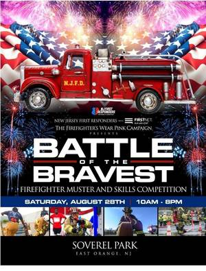 """Firefighters From all Over Coming to East Orange to Compete in the """"Battle of the Bravest"""""""
