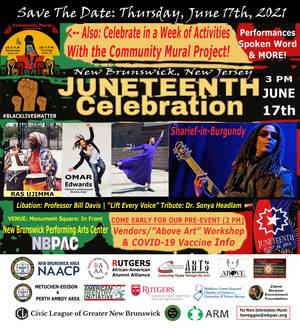 New Brunswick Planning Massive In-Person Juneteenth Celebration