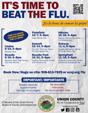 Protect Yourself During Flu Season -- Get Your 2021 Flu Shot for Free!