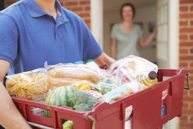 Food Distribution in Morristown; October 29
