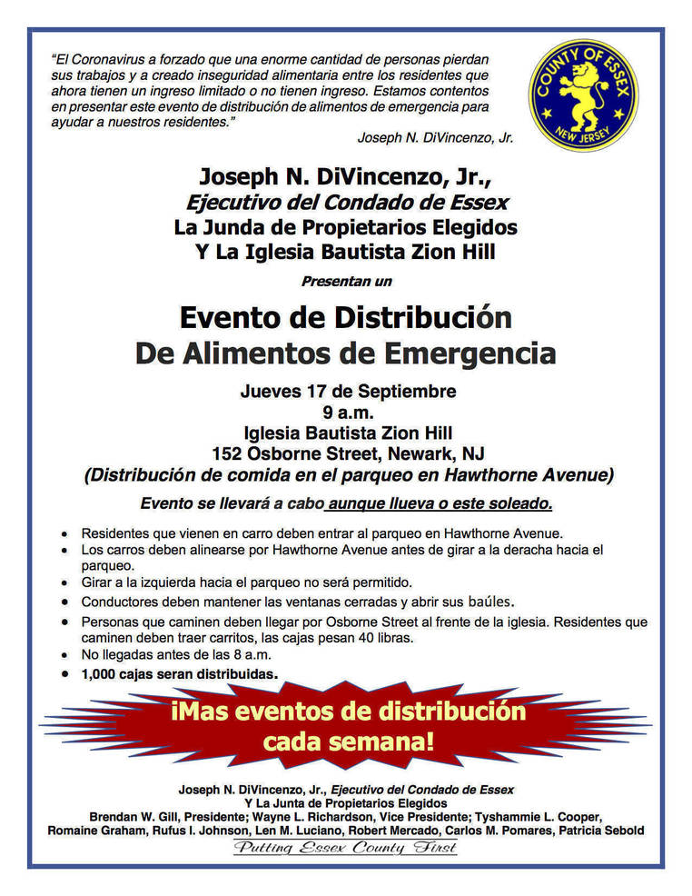 food distribution flier -zion hill spanish.png