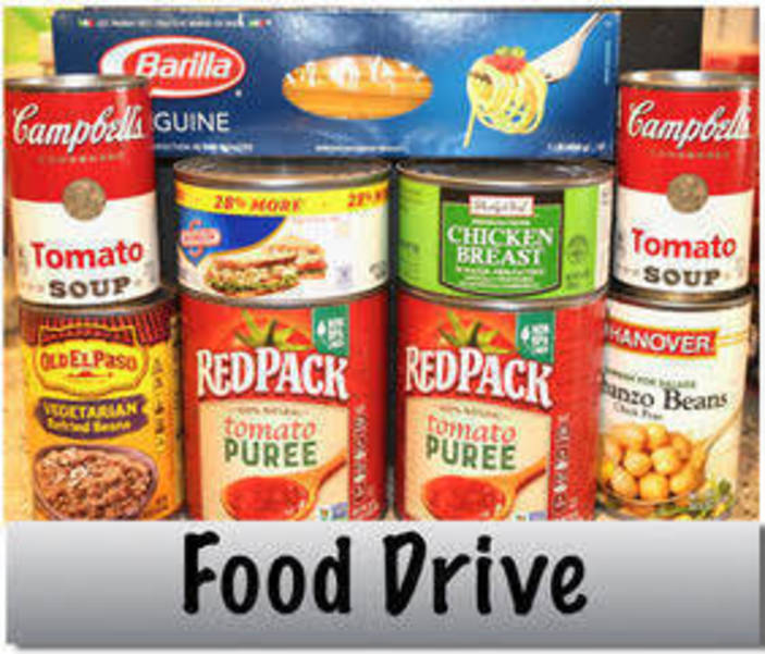 EO Food Drive at the Senior Center