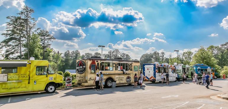 Food Truck Fest at Duke Island park