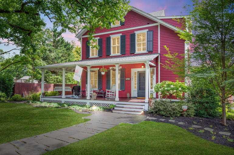 Beautiful home with front porch