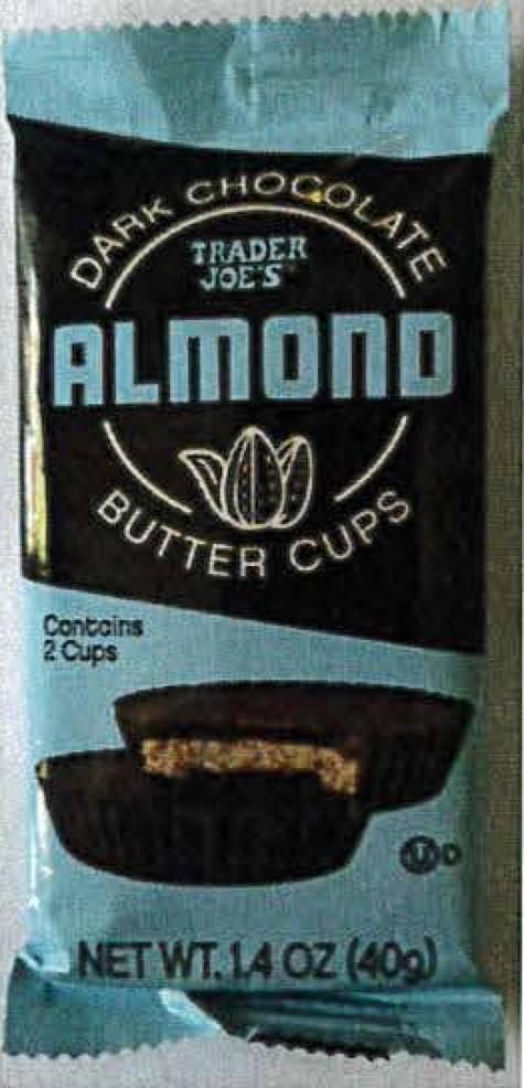 Recall Alert: Trader Joe's Dark Chocolate Almond Butter Cup Recalled