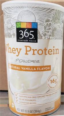 Allergy Alert: Whey Protein Powder Sold By Whole Foods Recalled