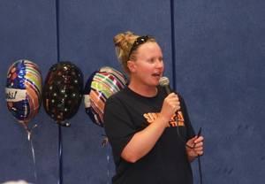 Springfield Swim Team Coach Karen Bocian celebrates twenty years of fun