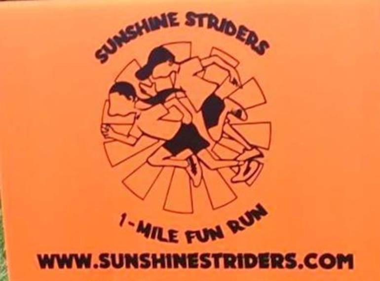 Chatham's Fourth Annual Sunshine Striders 1-Mile Fun Run Set for Saturday, Sept. 29; Benefits Rare Cancer Research