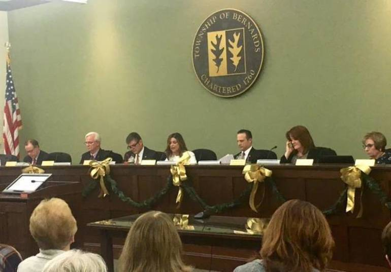 The 2019 Bernards Township Committee