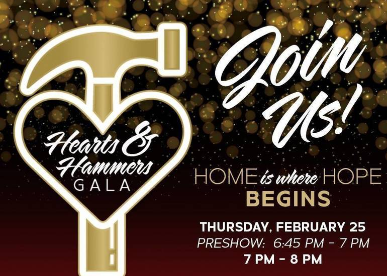 Morris Habitat for Humanity to Host Virtual Hearts & Hammers Gala on February 25