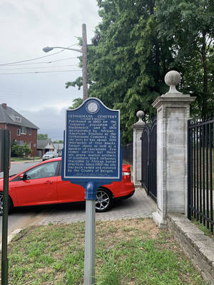 Bergen County to Open Historic Gethsemane Cemetery for Juneteenth Tours