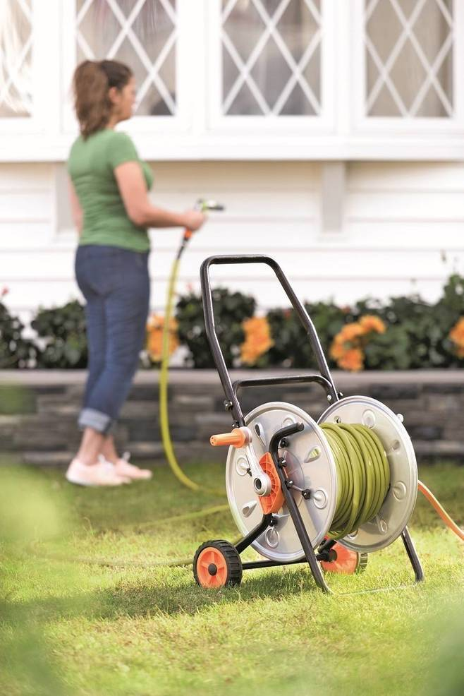 Look for a hose trolley that is sturdy and topple-resistant yet lightweight and maneuverable to make watering easy.
