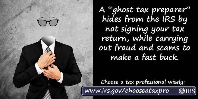 Tax Time Guide: Select a tax return preparer with care