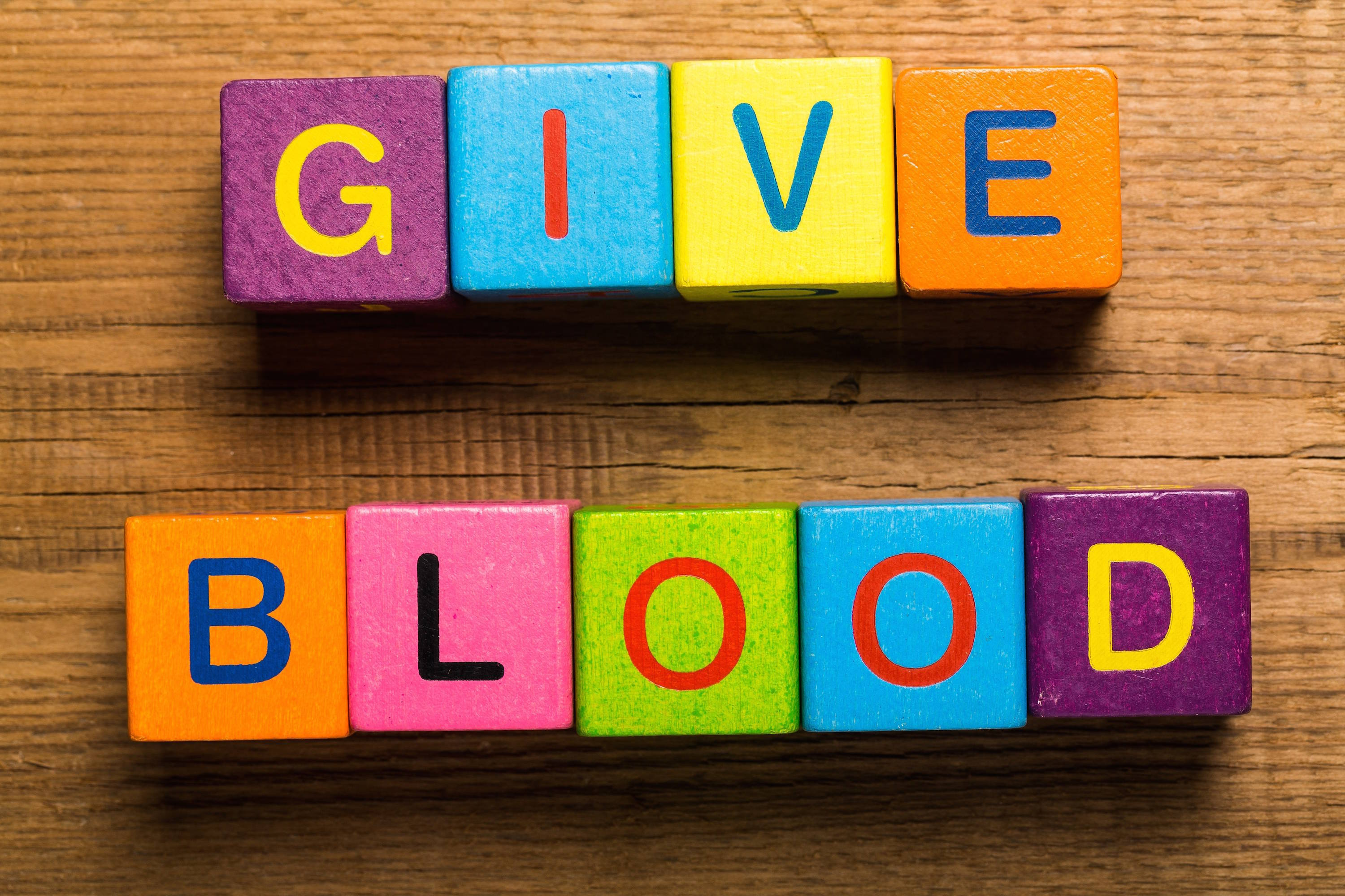 Give Thanks for Good Health by Giving Blood or Platelets at Plainfield High School