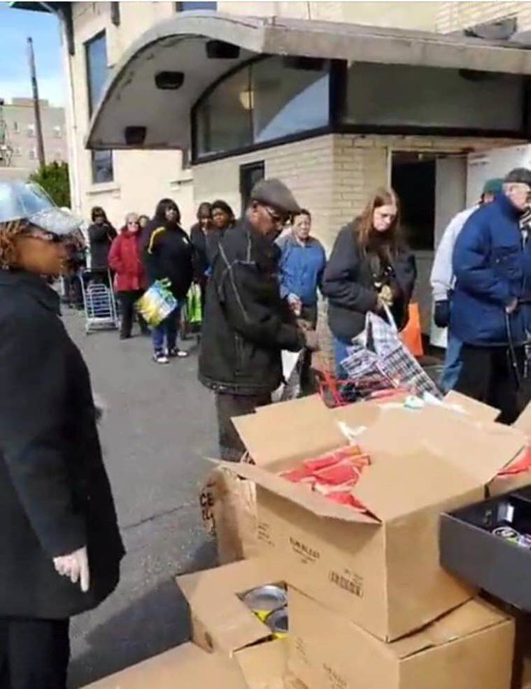 New Destiny, CDC Distributes Food and Brings Hope in the Crisis